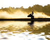 Quad Motorcycle Royalty Free Stock Photos