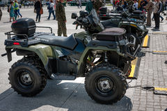 Quad Polaris Sportsman Stock Photography