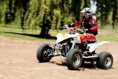 Quad race Royalty Free Stock Photography