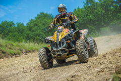 Quad racer Stock Photos