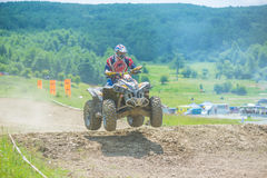 Quad racer Royalty Free Stock Photos