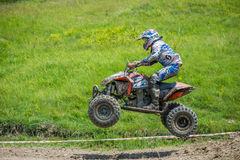 Quad racer Royalty Free Stock Images