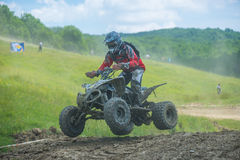 Quad racer Stock Photography