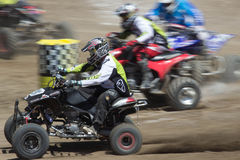 Quad Racers Stock Photography