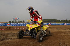 Quad Racing 1 Royalty Free Stock Photos
