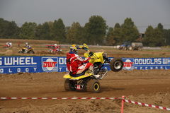Quad Racing 2 Royalty Free Stock Photo