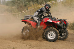 Quad racing Royalty Free Stock Photo