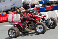 Quad racing bike Royalty Free Stock Image