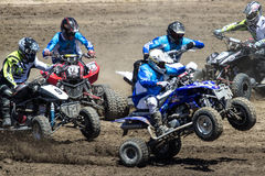 Quad Racing Stock Image
