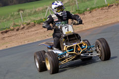 Quad racing Stock Photography