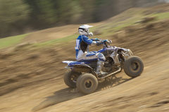 Quad rider. All trademarks are removed. Royalty Free Stock Photography