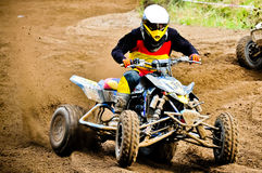Quad rider Stock Photos