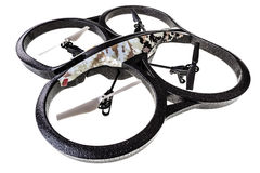 Quad rotor Surveillance drone Royalty Free Stock Images