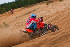 Four Wheeler Riding Stock Photos