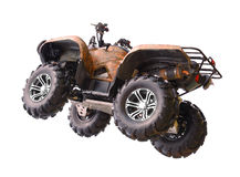 Quadbike royalty free stock photos