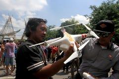 Quadcopter Lizenzfreies Stockbild