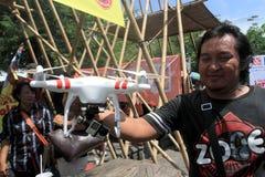Quadcopter Image stock