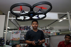 Quadcopter Photos libres de droits