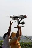 Quadcopter Stockfotografie