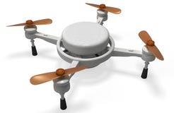 Quadcopter3D Foto de archivo libre de regalías