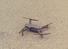 Quadcopter daleko Obrazy Stock
