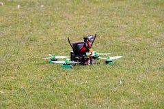 Quadcopter/fuco Fotografie Stock Libere da Diritti