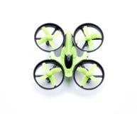 Quadcopter-Grün Stockbild