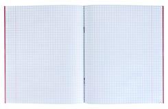 Quaderno in una cellula Fotografia Stock Libera da Diritti