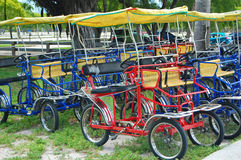 Quadracycles Royalty Free Stock Photo