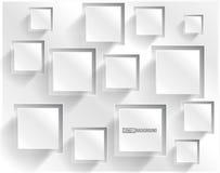 Vector o quadrado abstrato do fundo. Design web Fotos de Stock