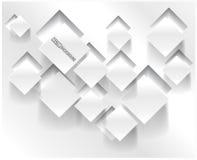 Quadrado abstrato do fundo do vetor. Design web Fotos de Stock