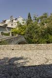 Quadrado antigo da pedra em Mostar Fotos de Stock