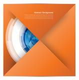 Quadrado branco Papel e origâmi Imagens de Stock