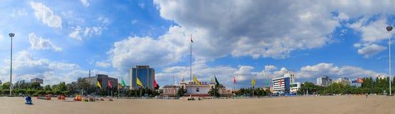 Quadrado center cultural de Changzhi Fotografia de Stock Royalty Free