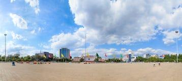 Quadrado center cultural de Changzhi Imagem de Stock Royalty Free