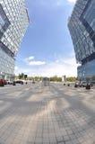Quadrado Center da torre Imagens de Stock Royalty Free
