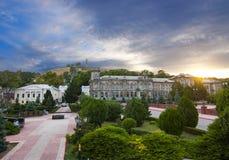 Quadrado central de Kerch Imagens de Stock Royalty Free