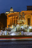 Quadrado central de Kutaisi, Geórgia imagens de stock royalty free