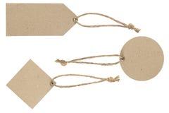 Quadrado circularmente e isolado da etiqueta da placa do polígono no branco fotos de stock royalty free