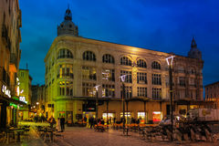 Quadrado da câmara municipal Narbonne france imagem de stock royalty free
