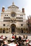 Quadrado da catedral, Cremona Fotografia de Stock