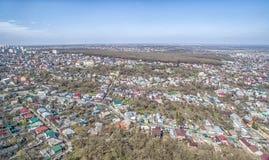 Quadrado da cidade de Stavropol Rússia fotos de stock