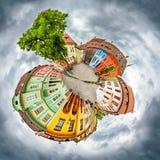 Quadrado da citadela de Sighisoara Imagens de Stock Royalty Free