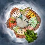Quadrado da citadela de Sighisoara Imagens de Stock