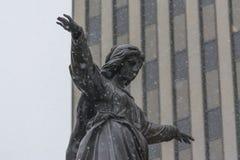Quadrado da fonte de Cincinnati imagens de stock royalty free