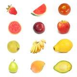 Quadrado da fruta fotografia de stock