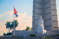 Quadrado da revolução em Havana, Cuba Fotos de Stock