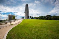 Quadrado da revolução em Havana, Cuba Fotografia de Stock Royalty Free
