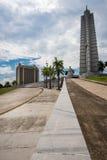 Quadrado da revolução em Havana, Cuba Imagens de Stock Royalty Free