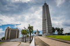 Quadrado da revolução em Havana, Cuba Foto de Stock Royalty Free